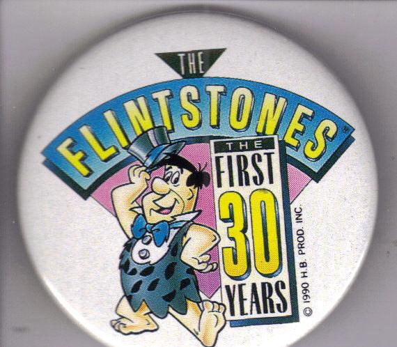 Button flintstone 30 yrs