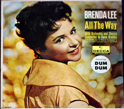 "Brenda Lee ""All The Way"" - $6.00"