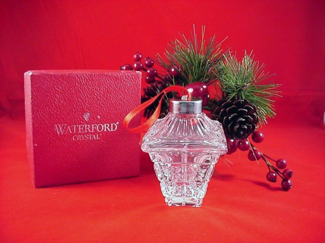 Waterford 1998 Annual Ball Ornament 7th Edition