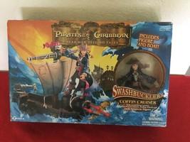 Disney POTC Dead Men Tell No Tells Swashbucklers Coffin Cruiser & Jack Sparrow - $25.00