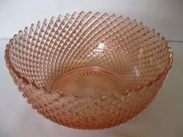 """Vintage Hocking Glass Miss America Large 8 3/4"""" Fruit Serving Bowl Made ... - $59.99"""
