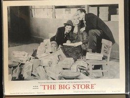 MARX BROTHERS The Big Store Original R1962 Lobby Card Poster Groucho Chi... - $32.37