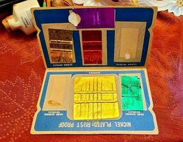 Vintage Sewing Susan Needles 70 Gold Eye Needles Missing Threader & some needles image 5