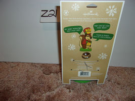 Hallmark Christmas Motion-Activated Squirrel Peek Buster, Guards Presents Under  image 3