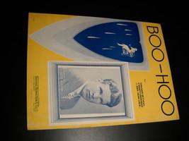 Sheet Music Boo Hoo Ozzie Nelson Carmen Lombardo Loeb 1937 Heyman Loeb B... - $8.99