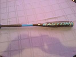 Bat Easton Typhoon baseball bat 30 inch 18 ounces black blue Model YB13TYA - $16.25