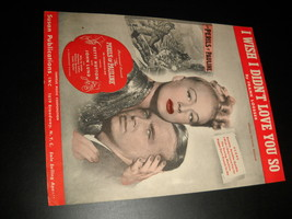 Sheet Music Wish I Didn't Love You So The Perils of Pauline 1947 Betty H... - $8.99