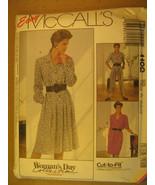 UNCUT Pattern 1989 EASY McCall SIZE 6 8 10 DRESS Jumpsuit 4102 [Z25] - $3.99