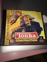 Hasbro Tonka Construcción Cd-Rom Juego para Edades 4 Windows 95/98 , Guc - $6.89