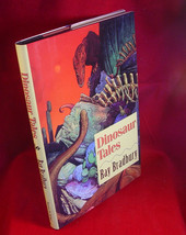 Ray Bradbury DINOSAUR TALES, 1st large hardback editon, SIGNED as new. - $93.10