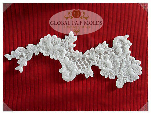 Primary image for Sugarcraft Molds Polymer Clay Molds Cake Decorating Tools lace mold 096