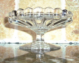 Heisey Crystal  Crystolite Pattern Cheese Compote - $12.50