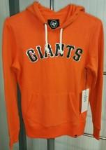 NWT San Francisco Giants MLB 47 Brand Sweatshirt Hoodie Womens S Orange Metallic - $59.39