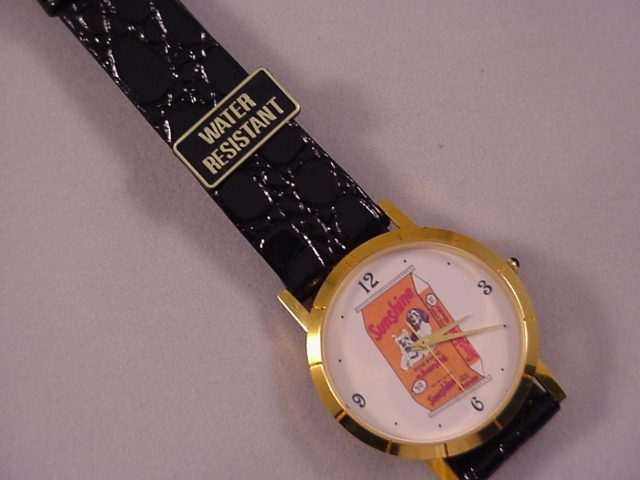 Sunshine Dog Food Watch - 1979 New Never Used