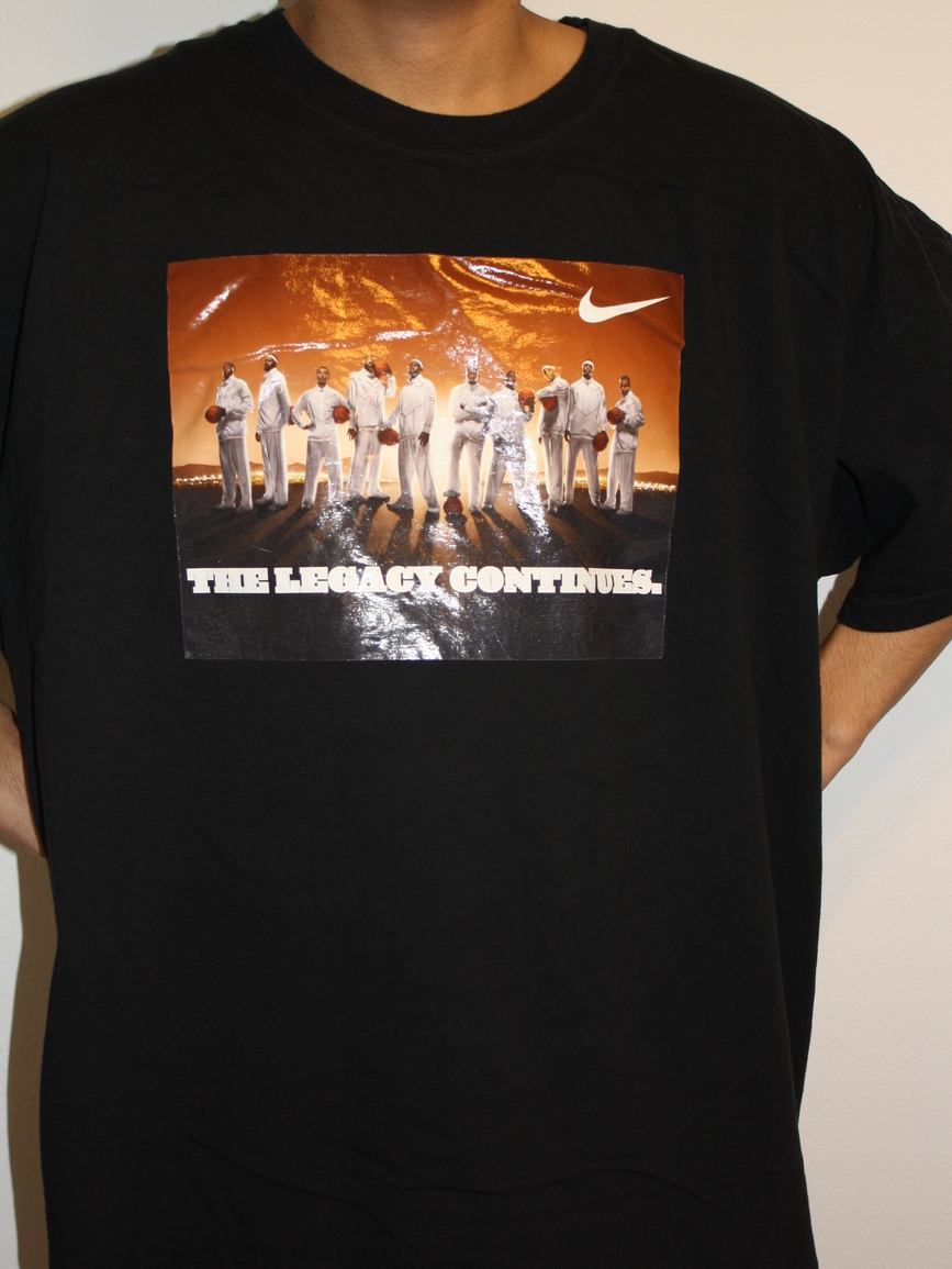 NIKE THE LEGACY CONTINUES T-shirt 3XL