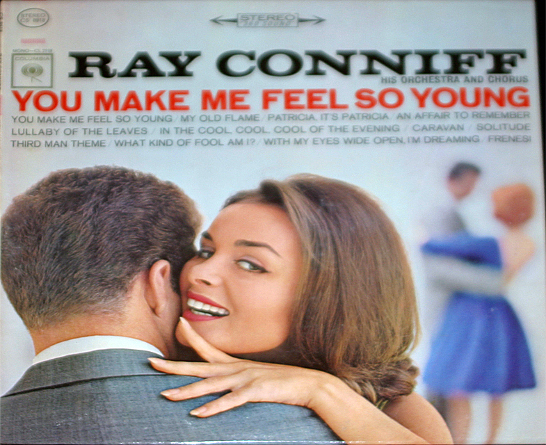 Ray conniff you make me feel so young cover