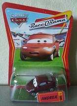 Disney Pixar CARS Race O Rama ANDREA diecast ROR 89 - $7.00