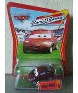 Disney Pixar CARS Race O Rama ANDREA diecast ROR 89 - $6.00