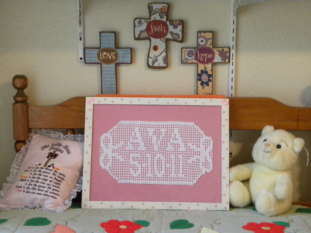 Primary image for Crochet Name Plaque