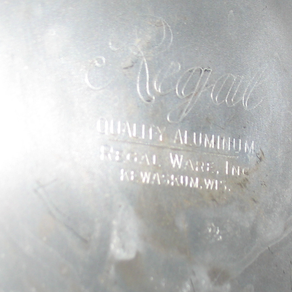 Vintage Regal Quality Aluminum Cake and Pie Carrier 3 Piece 1950's