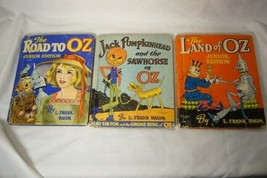 3 L Frank Baum 1939 Books Pumpkinhead - Road - Land image 1