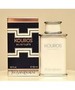 Yves Saint Laurent Kouros Eau de Toilette Edt 50ml 1.6 Fl. Oz. Splash Ol... - $349.90