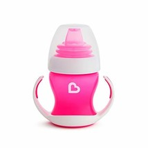 Munchkin Gentle Transition Trainer Cup, 4 Ounce, Pink - $7.85