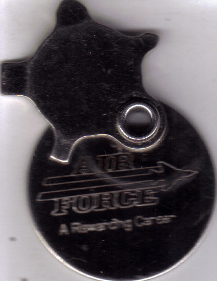 AIR FORCE Souvenir Compact ScrewDriver