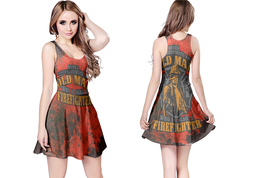 Fire Fighter Quote Satanic Reversible For Women - $22.99+