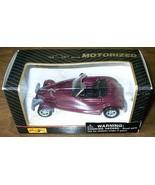 MAISTO Motorized pull-back PLYMOUTH PROWLER diecast toy NIB - $6.00