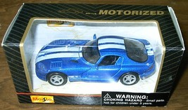 MAISTO Motorized pull-back DODGE VIPER GTS diecast toy NIB - $7.00
