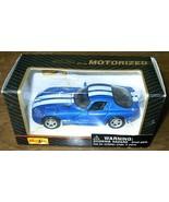 MAISTO Motorized pull-back DODGE VIPER GTS diecast toy NIB - $9.99