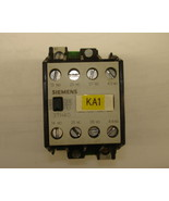 Siemens Magnetic Contactor 3TH4095-0A - $20.25
