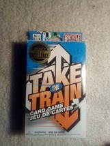 Take the Train card game, 2007 seal of excellence award, Bicycle games - $8.91