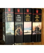 Lot 4 Terry Goodkind Richard Rahl Kahlan Amnell Fantasy Sword of Truth - $7.99