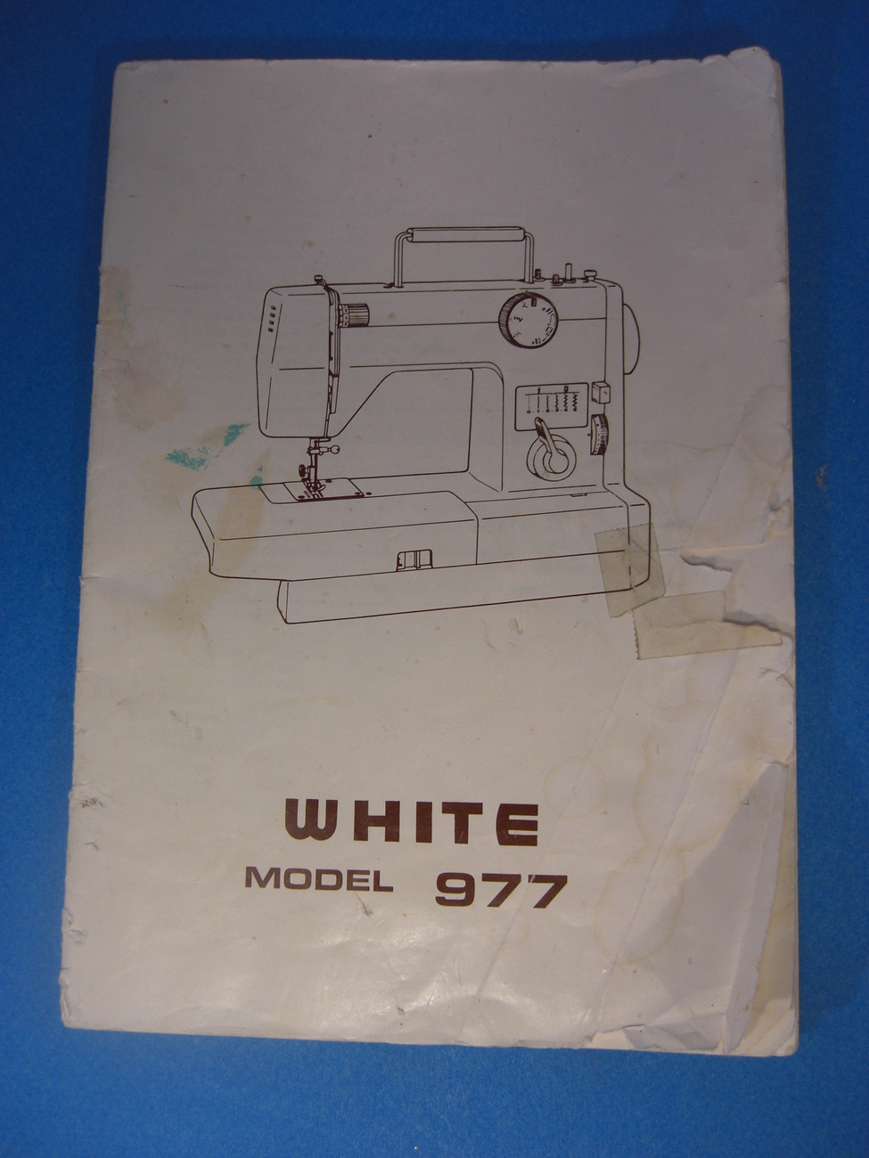 white sewing machine models list