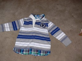 The Children's Place Boys Striped Long Sleeve Shirt Size 3T jk - $5.50