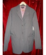 NEW Guess Jeans Pinstripe Blazer Sports Coat Jacket L - $35.00