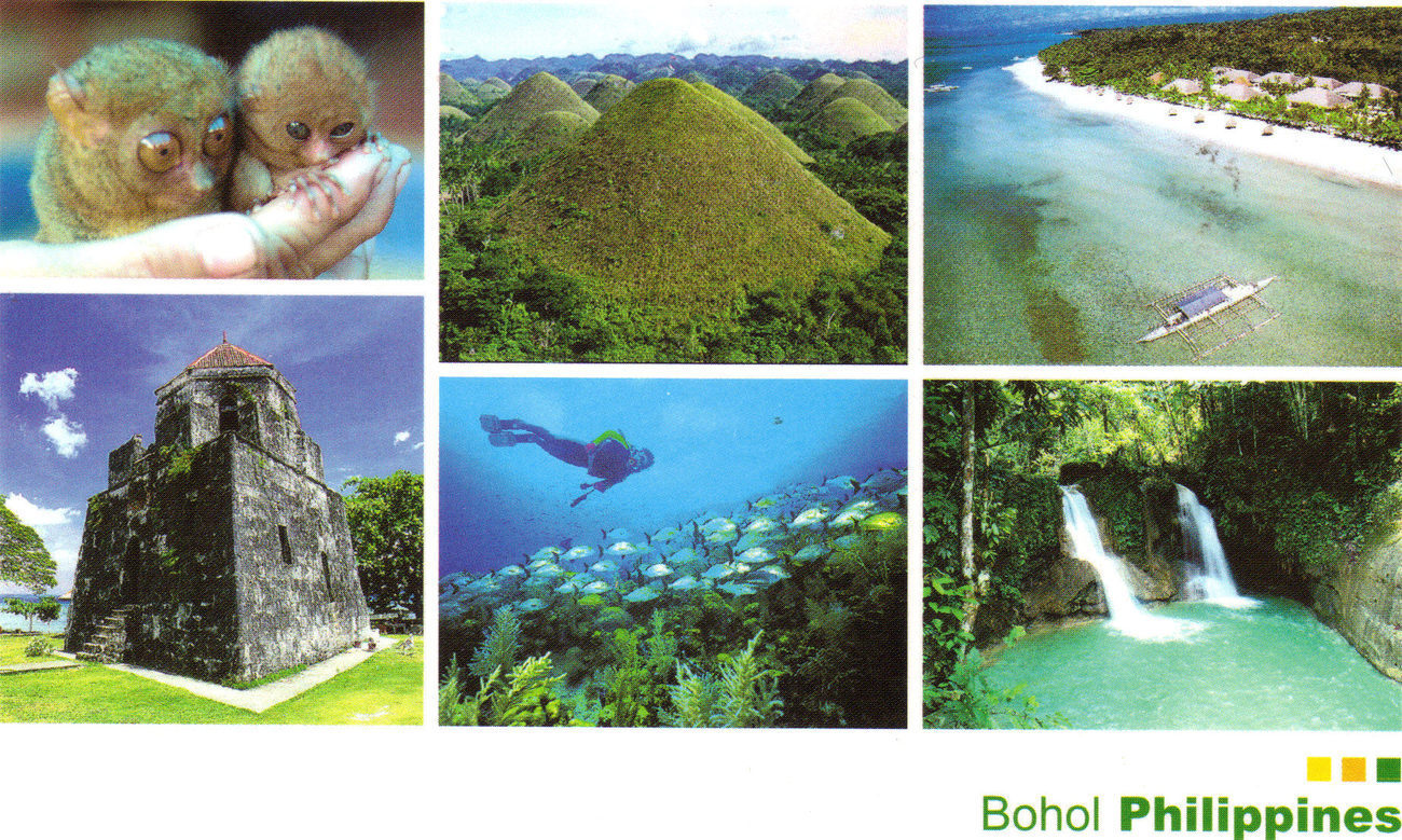 Phil postcard bohol