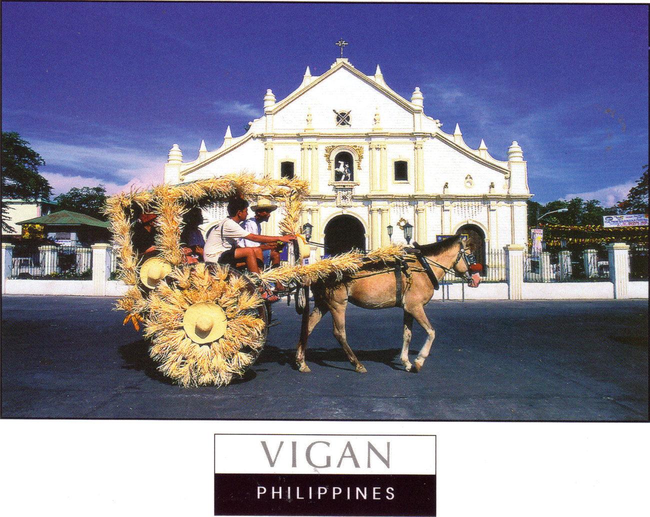 Phil postcard vigan