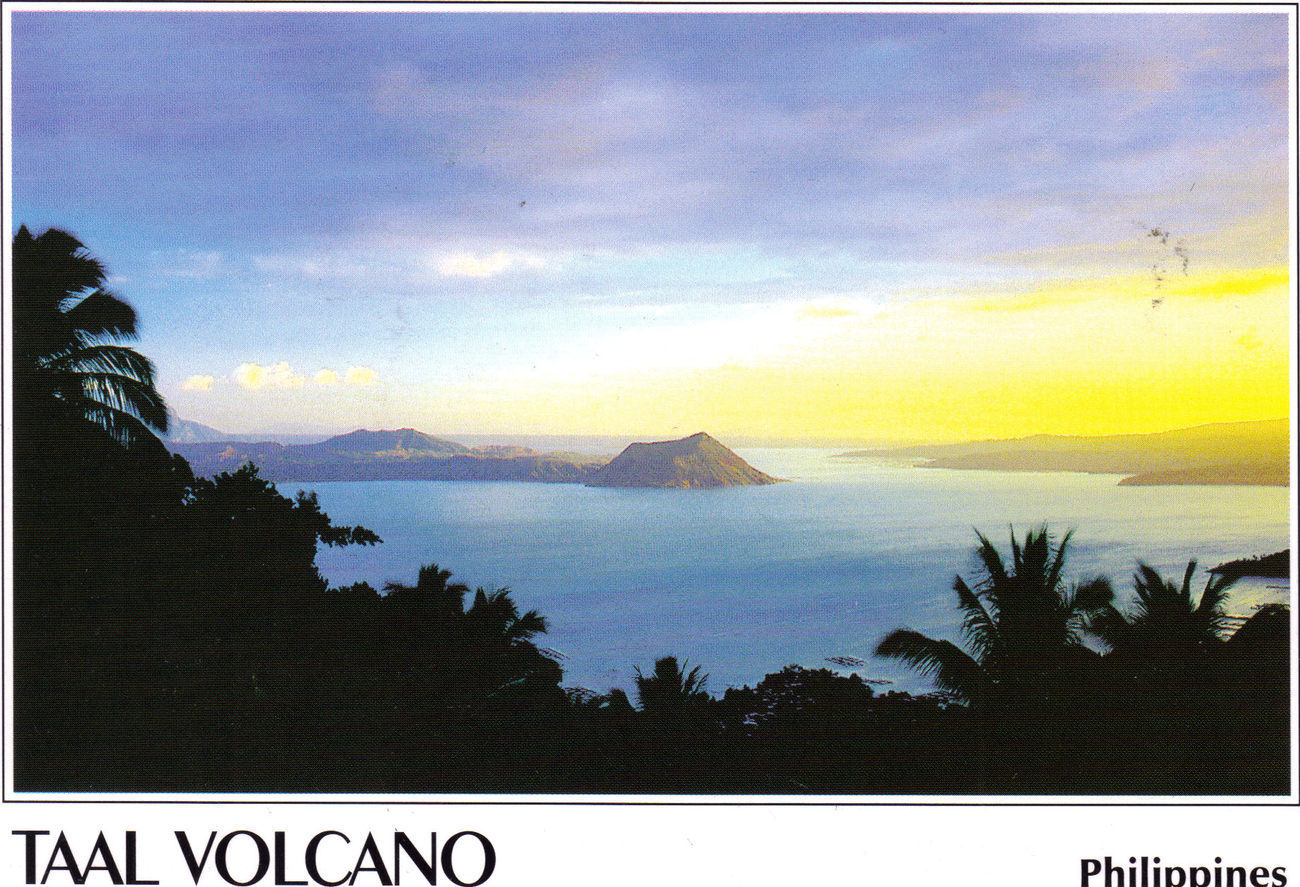 PHILIPPINES POSTCARDS, New: TAAL VOLCANO, Tagaytay