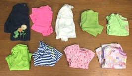 Lot of 9 Girl's Size 3-6 & 6 Months Long & Short Sleeve Tops - Gymboree, Carters - $17.97