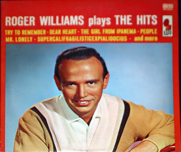 Roger williams plays the hits