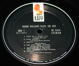 Roger williams plays the hits  l thumb200