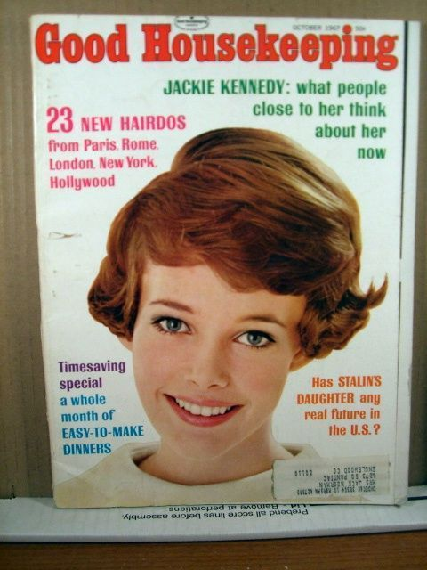 Primary image for Good Housekeeping Magazine October 1967 Jackie Kennedy, Stalin's Daughter