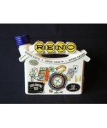 Ceramic Reno Ezra Brooks Liquor Bottle 1968 - $7.50