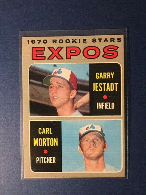 1970 Topps Expos Rookies #109 Nr-Mnt Condition