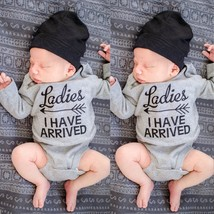 Newborn Kids Baby Boys Girls Long Sleeve Romper Jumpsuit Bodysuit Outfit... - $15.50