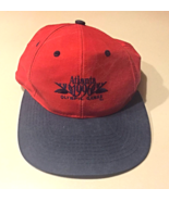 GENTLY USED EMBROIDERED COTTON 1996 ATLANTA OLYMPIC GAMES CAP IN RED AND... - $10.00