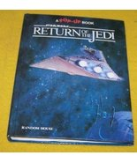 Star Wars 3D Pop Up Book Return Of The Jedi  - $20.00